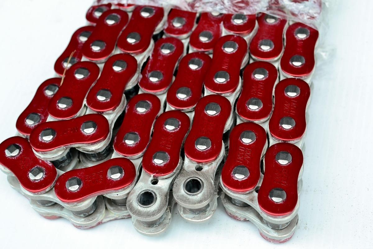No Chain Ek Metallic Red Zvx