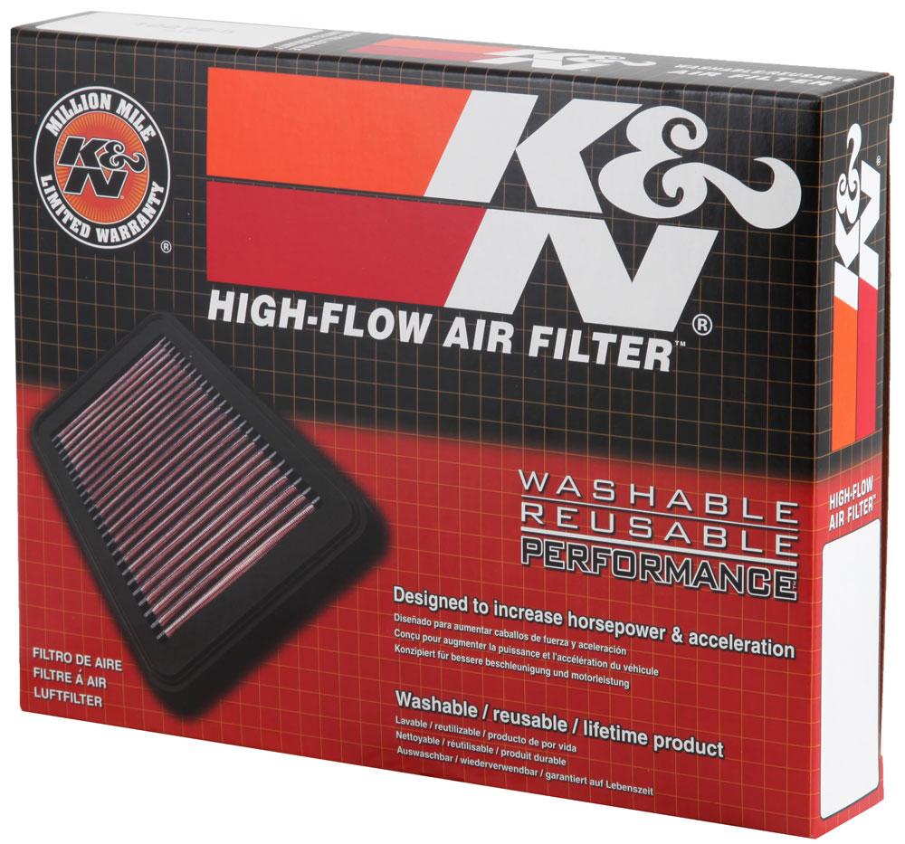 FZ8 YA-1006 K/&N Air Filter for 2006-2015 YAMAHA FZ1