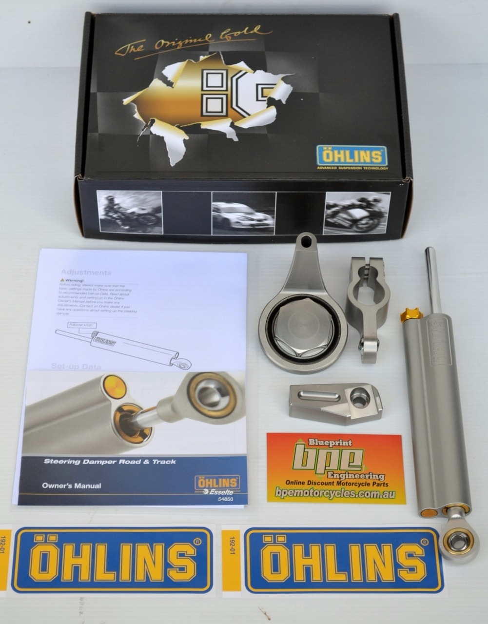 Ohlins Motorcycle Steering Damper Yamaha Sd020 Fits R6 2008 To 2016 Engine Parts Diagram