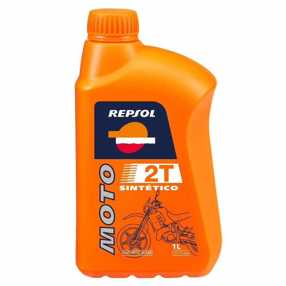 REPSOL SYNTHETIC TWO STROKE PRE-MIX OIL MOTO COMPETITION 2T (2 STROKE) FAST  POST
