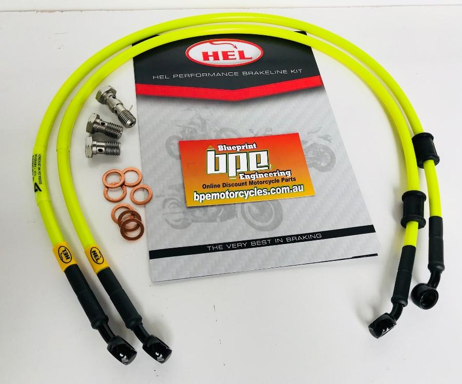 HEL Brake Line Kit Full Length Race for Honda CBR 600 F4i Sport 01-02